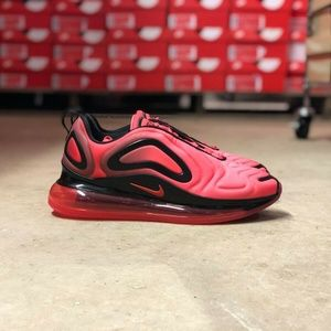 Nike Air Max 720 Mens Running Shoes Red Multi Size